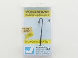 Viessmann 6440 Bogenleuchte mit Patentsteckfuß Spur N NEU OVP ST
