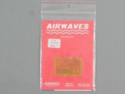 Airwaves AC72-28 Fotoätzteile Cockpit MiG 29 1:72 NEU OVP