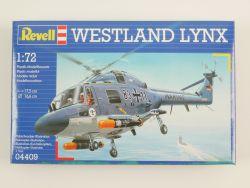 Revell 04409 Westland LYNX Navy Helikopter 1:72 NEU! OVP