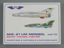 Aero Team Plastik Modellbausatz MiG-21 UM Mongol 1:72 OVP