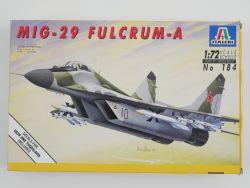 Italeri 184 MiG-29 Fulcrum-A Düsenjäger Kampfflugzeug Lesen! OVP