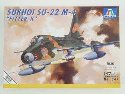 Italeri 047 Sukhoi Su-22 M-4 Fitter-K Kampfjet KIT 1:72 TOP! OVP