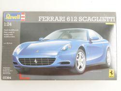 Revell 07364 Ferrari 612 Scaglietti Modellauto KIT 1:24 NEU! OVP