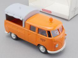 Wiking 7680237 VW Pritschenwagen Doppelkabine 1:40 DoKa NEU! OVP