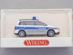 Wiking 1042432 Volkswagen VW Touran Polizei 1:87 H0 NEU! OVP