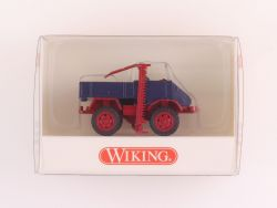 Wiking 8700327 MB Unimog 411 mit Mähwerk und Fahrer NEU! OVP