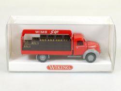 Wiking 8480136 Magirus Mercur Wimo Sip Getränkewagen NEU! OVP