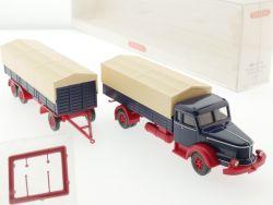 Wiking 8910240 Krupp Titan Pritschen Lastzug LKW SZ H0 NEU! OVP