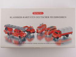Wiking 990 43 55 Klassiker Raritäten deutscher Feuerwehren OVP