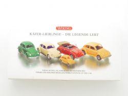 Wiking 9904150 VW Käfer Lieblinge Die Legende Lebt 1:87 OVP