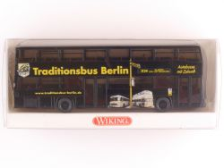 Wiking 7310846 MAN D89 Doppeldeckbus Traditionsbus Berlin OVP