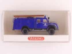 Wiking 8740135 THW-Fahrzeug Magirus TLF 16 Rundhauber NEU! OVP
