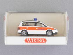 Wiking 0711031 Volkswagen VW Touran Notarzt Blaulicht NEU! OVP