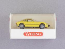 Wiking 8040524 Opel GT gelb Modellauto 1:87 H0 NEU! OVP