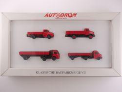 Wiking 99026 Autodrom Klassische Baufahrzeuge VII LKW OVP