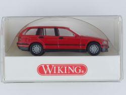 Wiking 1990221 BMW 3er touring Modellauto rot 1:87 NEU! OVP
