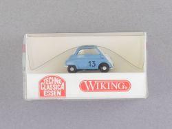 Wiking 80803 BMW Isetta 4-Rad blau Techno Classica 1:87 NEU! OVP