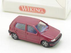 Wiking 0360117 VW Volkswagen Polo Bordeauxrot H0 1:87 NEU! OVP