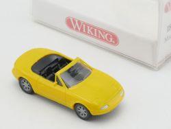Wiking 1880216 Mazda MX 5 Roadster Cabrio gelb 1:87 H0 NEU! OVP