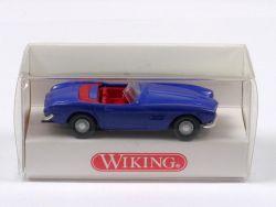Wiking 8290121 BMW 507 Cabriolet blau Modellauto 1:87 NEU OVP
