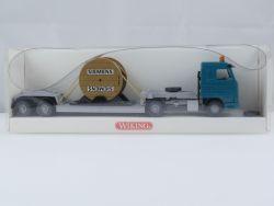 Wiking 5030133 Scania 143 M Tieflade-Sattelzug Siemens LKW OVP