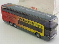 Wiking 7150340 MB O 404 DD Reisebus Doppeldecker Siemens OVP