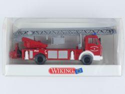Wiking 61801 MB Metz Feuerwehr DLK 23-12 Schlauchrolle FW OVP