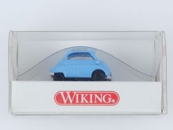Wiking 8080122 BMW Isetta Modellauto hellblau 1:87 NEU! OVP