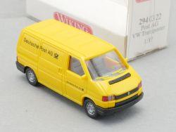 Wiking 2940322 VW T4 Transporter Deutsche Post AG H0 NEU! OVP