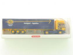 Wiking 5100539 Scania 144 ASG Pritschen-Sattelzug LKW NEU! OVP