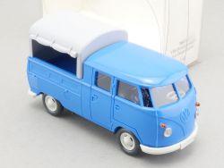 Wiking 7680135 VW T1 Bulli DoKa Doppelkabine Bus 1:40 NEU! OVP