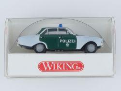 Wiking 8640125 Ford 17 M Polizei Badewanne 1:87 NEU! OVP