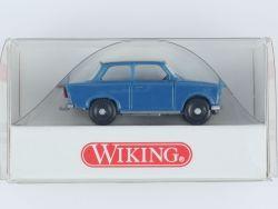 Wiking 1290320 Trabant 601 S Trabbi DDR blau 1:87 NEU! OVP