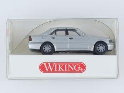 Wiking 1444024 MB Mercedes C 240 PKW silber 1:87 NEU OVP