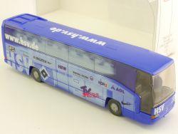 Wiking 7141446 MB O 404 Fussball HSV Reisebus 1:87 NEU OVP