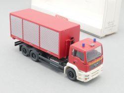Wiking 6254037 MAN TG 410 A Feuerwehr Abrollcontainer NEU! OVP