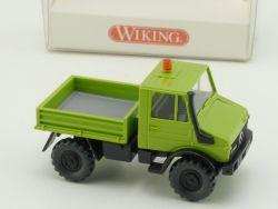 Wiking 3740123 MB Mercedes Unimog 1700 grün 374 1:87 NEU! OVP