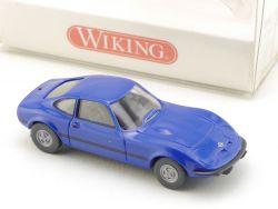 Wiking 8040424 Opel GT blau Modellauto H0 PKW 1:87 NEU! OVP