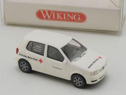 Wiking 0710732 VW Polo Deutsches Rotes Kreuz DRK 1:87 NEU! OVP