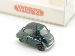 Wiking 8640527 BMW Isetta Polizei Landespolizei H0 1:87 NEU! OVP