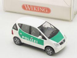 Wiking 1041830 MB Mercedes A-Klasse A160 W 168 Polizei NEU! OVP