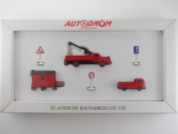 Wiking 99028 Autodrom Klassische Baufahrzeuge VIII LKW OVP