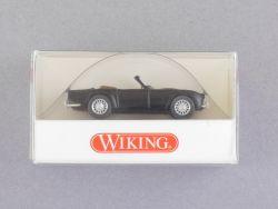 Wiking 8150422 Triumph TR4 Roadster schwarz 1:87 PKW NEU! OVP