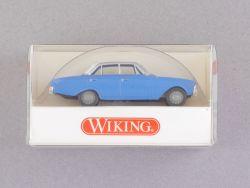 Wiking 8110324 Ford 17 M Badewanne Modellauto blau 1/87 NEU! OVP