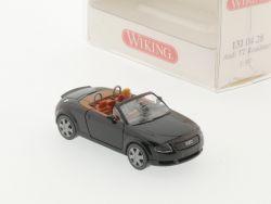 Wiking 1310428 Audi TT 8n Roadster schwarz Figur H0 NEU! OVP