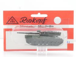 Roskopf 32 RMM Militär Kampfpanzer Leopard 1A3/A4 1:87 MOC OVP SG