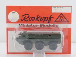 Roskopf 64 RMM Transportpanzer 1 Fuchs Bundeswehr 1:87 OVP