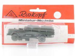 Roskopf 147 RMM Daimler Benz Pritsche Plane 1:87 MOC  OVP