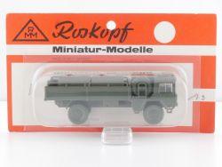 Roskopf 73 RMM MAN 5to Militär LKW Tankwagen BW NATO1:87 MOC OVP
