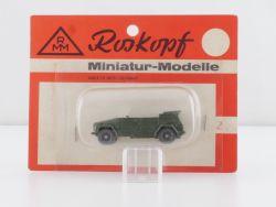 Roskopf 27 RMM VW 181 Kübelwagen Bundeswehr 1:87 MOC  OVP